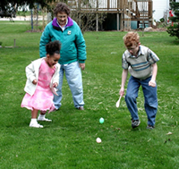 Easter Games with Grandma